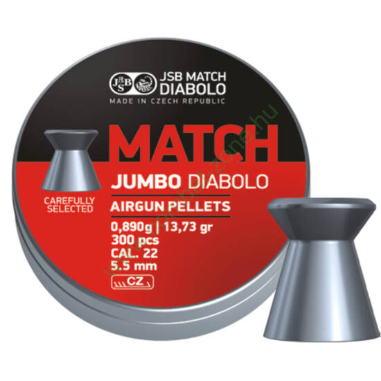 JSB Jumbo Match cal. 5.50 (.22) lövedék