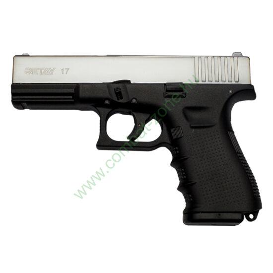 Retay G 17 gáz-riasztó pisztoly, nikkel