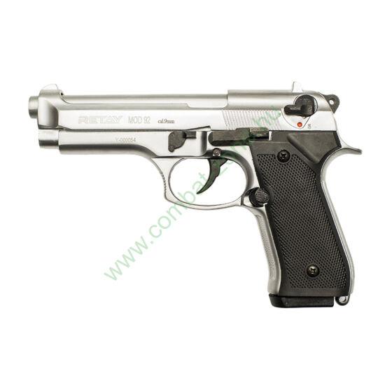 Retay Mod 92 gáz-riasztó pisztoly, króm