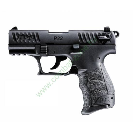 Walther P22 Q gáz-riasztó pisztoly, Fekete